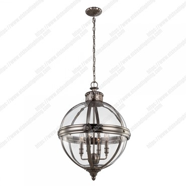 Adams 4 Light Pendant Chandelier – Antique Nickel