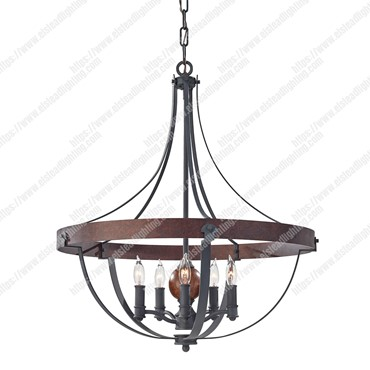 Alston 5 Light Chandelier