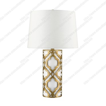 Arabella 1 Light Table Lamp – Distressed Gold