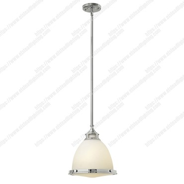 Amelia 1 Light Medium Pendant – Chrome