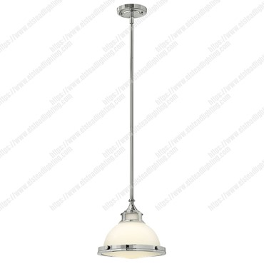 Amelia 1 Light Mini Pendant – Chrome