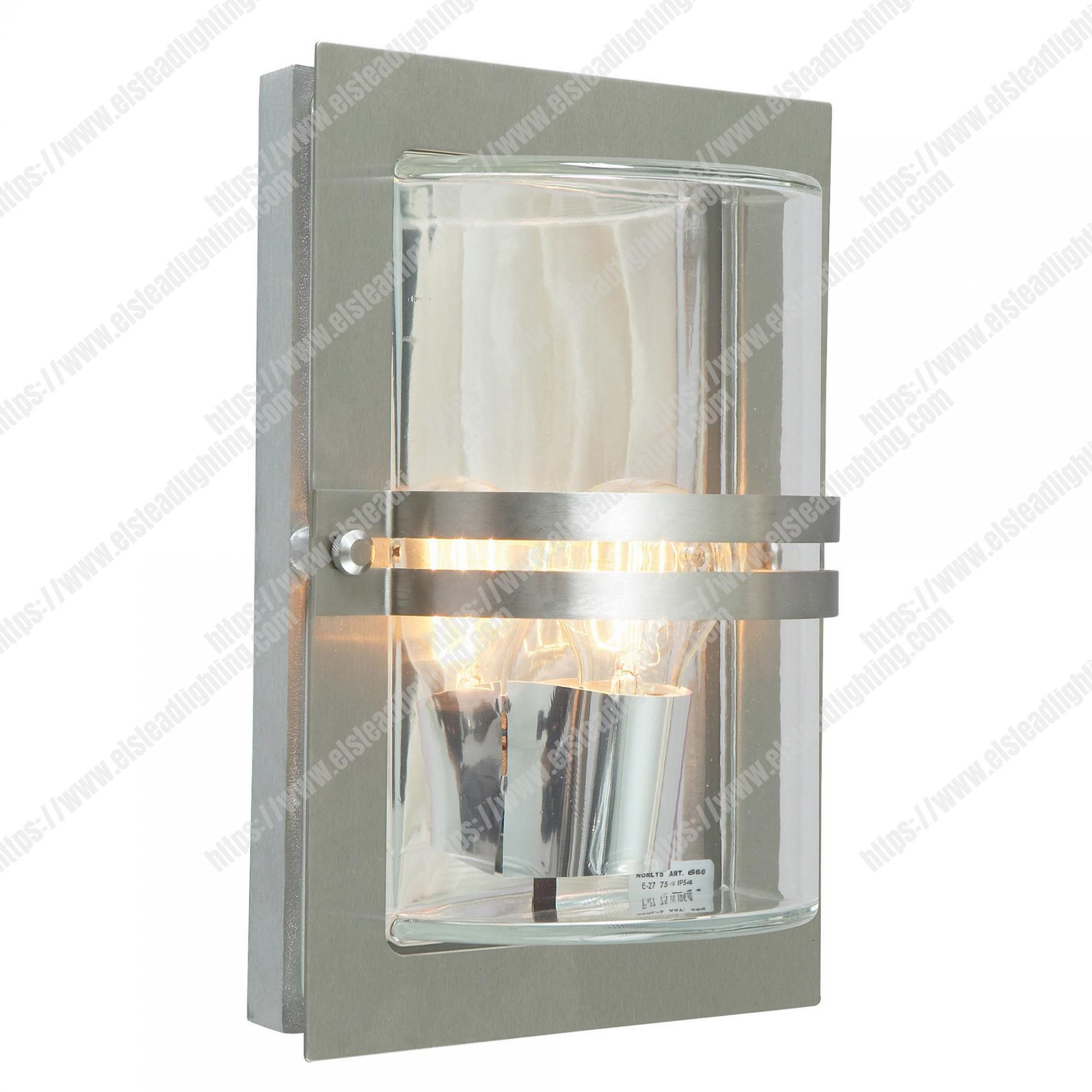 Light Wall Lantern Stainless Steel