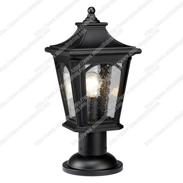 Bedford 1 Light Medium Pedestal Lantern