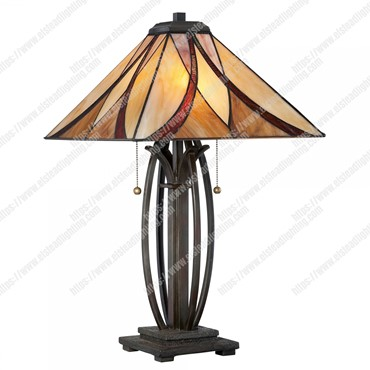 Asheville 2 Light Table Lamp